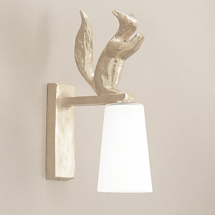 Edy Outdoor Wall Lamp Nickle