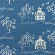 Fall Pagoda Blue