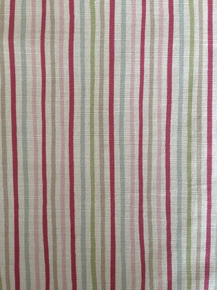 Sarah Hardaker Smart Stripe Cherry and Duck