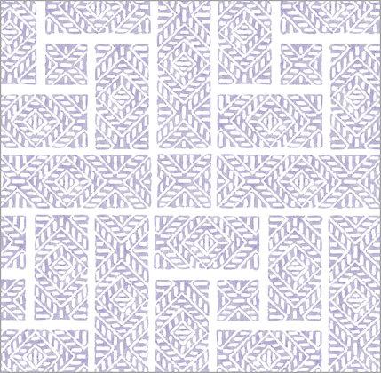 Ferran Textiles Wallpaper Shoji Lilac