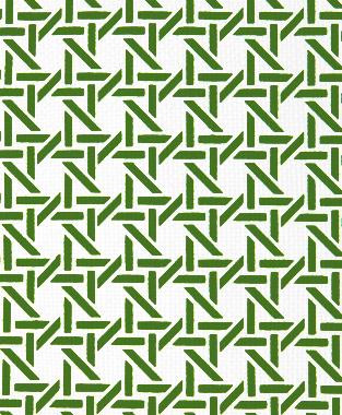 Tillett Textiles Cane Forest Green