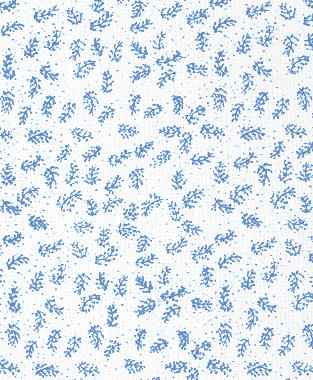 Tillett Textiles Twigs Blue Lapis