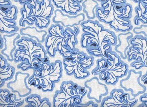Mally Skok Brimfield Delft Blue