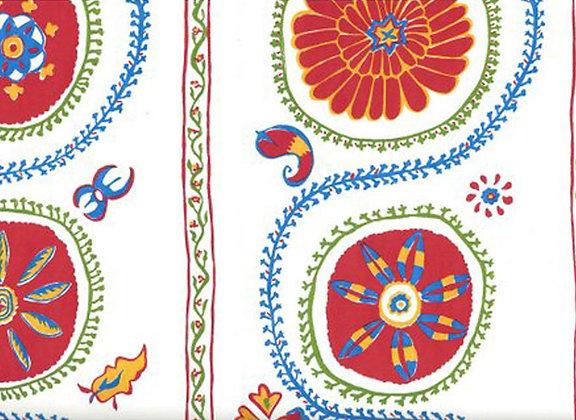 Mally Skok Suzani Luv Wallpaper Persimmon
