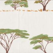 Botswana Trees Peridot Multi