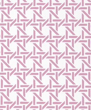 Tillett Textiles Cane Pink Pansey