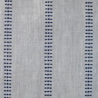 K Stripe Burghley Blue