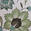 Thumbnail: FLORAL SCROLL Green Oyster Linen