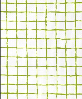 Tillett Textiles Grid Alert Dark Lime