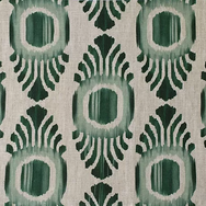 Ikat Mini Emerald Natural