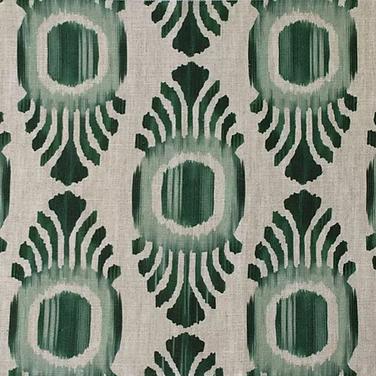 Ikat Mini Emerald Natural