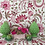 Thumbnail: FLORAL SCROLL Pink Oyster Linen
