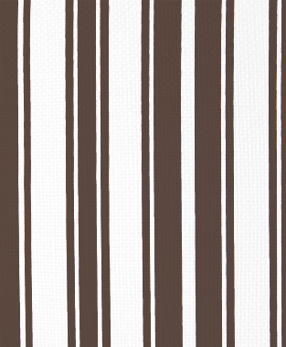 Tillett Textiles Evergreen Stripe Cocoa