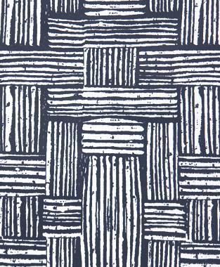 Tillett Textiles Basket Weave Navy