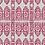 Thumbnail: SERENA IKAT Pink & Red Oyster Linen