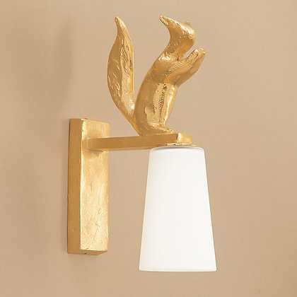 Edy Outdoor Wall Lamp Gold