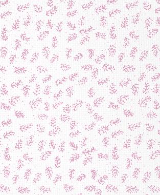 Tillett Textiles Twigs Pink Pansey