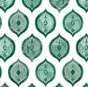 Ottoman Ogival Emerald