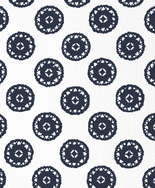 Tillett Textiles Vignelli Navy