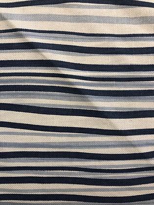 Tillett Textiles Stripes of Ivan Blue