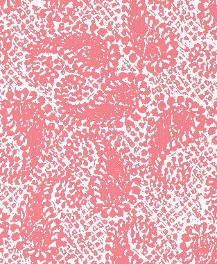 Tillett Textiles Paisley Patch Sorbet