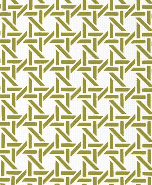 Tillett Textiles Cane Forest Moss