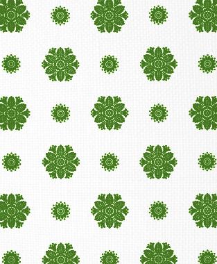 Tillett Textiles Florette Forest Green