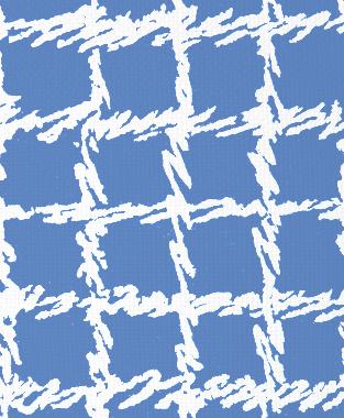 Tillett Textiles Burlap Blotch Blue Lapis