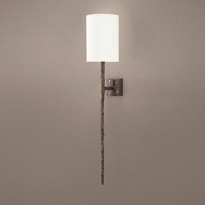 Long Hera wall lamp Bronze