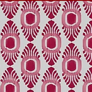 Ikat Mini Pink & Red Oyster