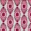 Thumbnail: IKAT MINI Pink & Red UK Natural Linen