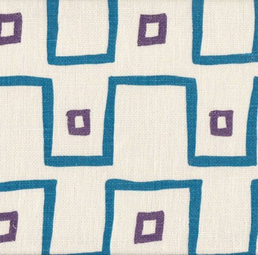 Kuba Cloth Azure Violet