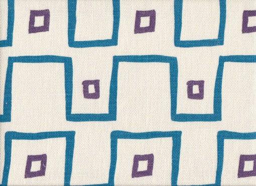 Mally Skok Kuba Cloth Azure-Violet