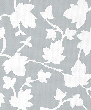 Tillett Textiles Ivy Blotch Metallic Silver