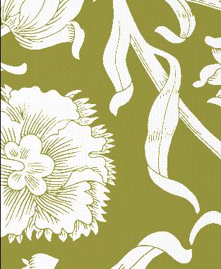 Tillett Textiles Alexandria Forest Moss