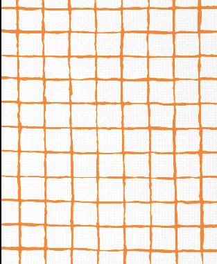 Tillett Textiles Grid Alert Carrot