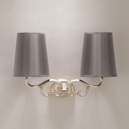 Treviso wall lamp Nickle