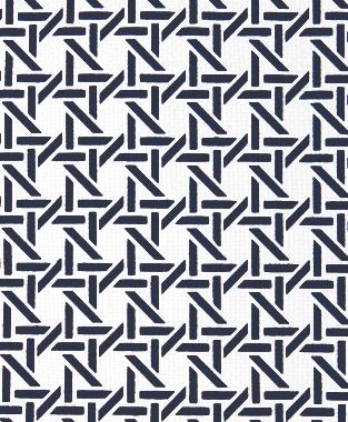 Tillett Textiles Cane Navy