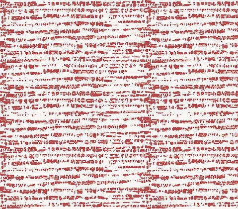Behl Designs Grasscloth Brick Red