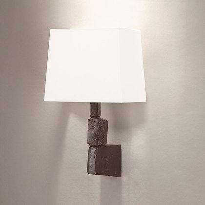 Fragile wall lamp Bronze