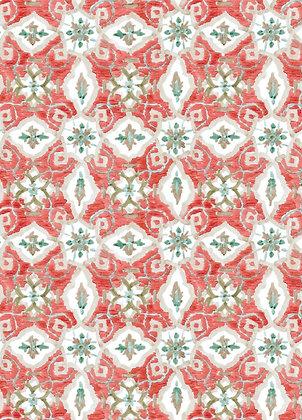 Ferran Textiles Amos Poppy