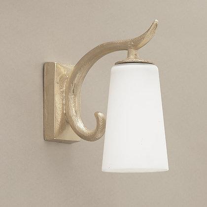 Delia Outdoor Wall Lamp Nickle