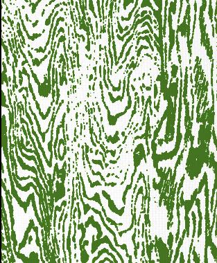 Tillett Textiles Woodgrain Forest Green