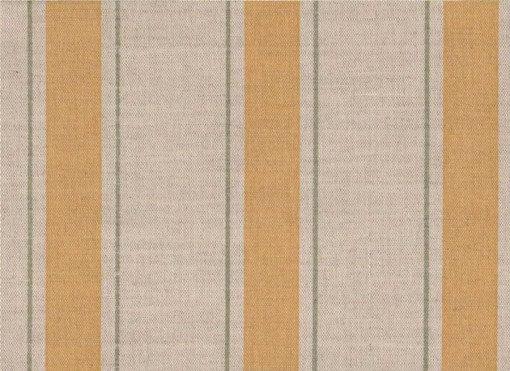 Mally Skok Indian Stripe Yellow/Green on Natural