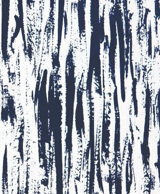 Tillett Textiles Brush Strokes Navy