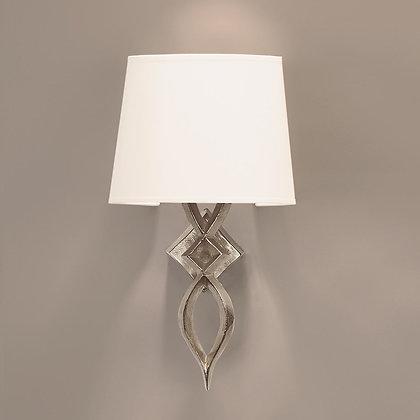 Mona wall lamp Nickle