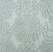 Paisley Aqua Silver