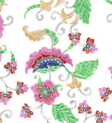 Ferran Textiles Cirebon White