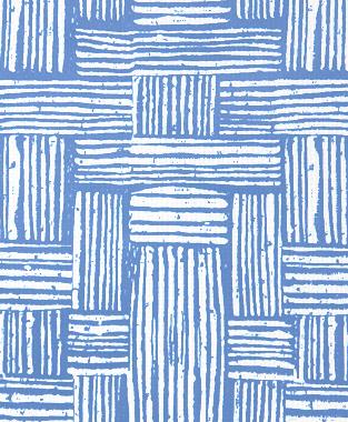 Tillett Textiles Basket Weave Blue Lapis
