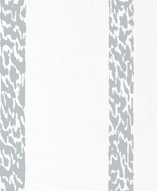 Tillett Textiles Ocelot Stripe Metallic Silver